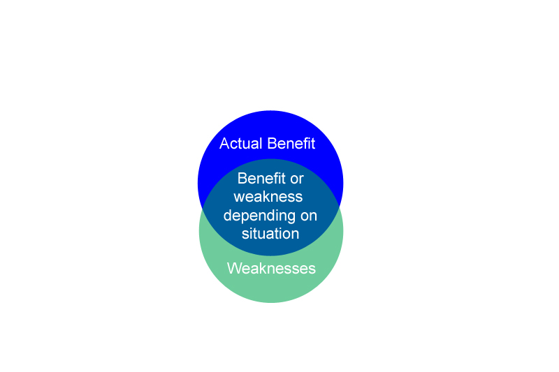 Slide 2 - Benefits and weaknesses